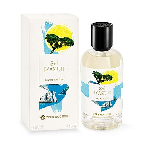 Yves Rocher LA COLLECTION Eau de Parfum Sel d\'Azur, erfrischendes Parfum mit Zedernholz & Grapefruit, 1 x Zerstäuber 100 ml