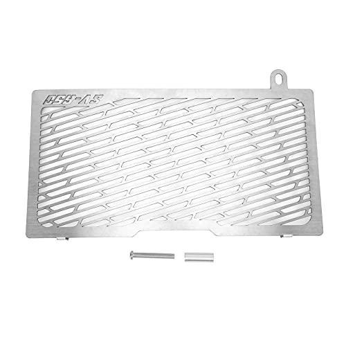 Akozon Protector de Rejilla de radiador, Repuesto de Protector de Rejilla de radiador de Motocicleta de aleación de Aluminio para SV650 2016-2018 Protector de radiador de Motocicleta