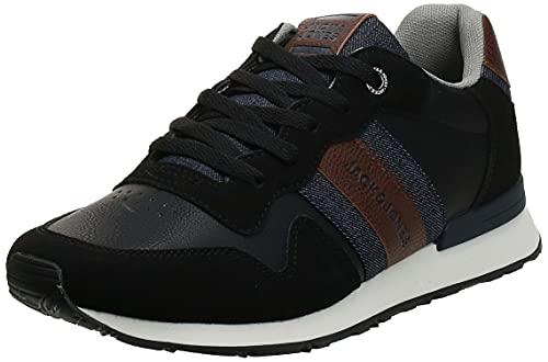 JACK & JONES Herren Jfwstellar Casual Anthracite Noos Sneaker, Anthracite, 42 EU