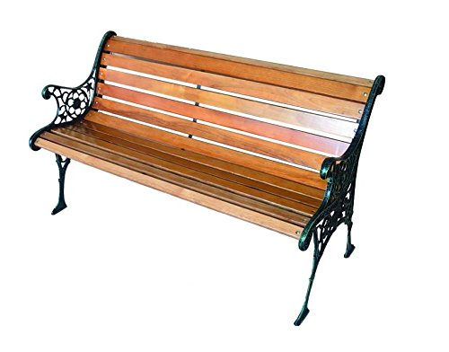 Blinky 9694030 Garden Bench, Cast Iron/Wood