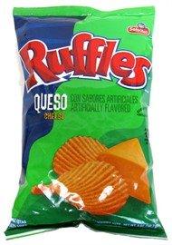 Ruffles Sabritas Queso Cheese Potato Chips, 6.5 oz Florida