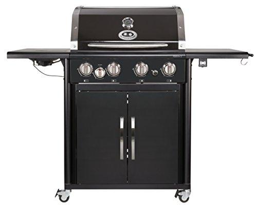 Preisvergleich Produktbild Outdoorchef PERTH 4G + schwarz BBQ Gasgrill Grillstation,  4 Brenner,  18.131.29