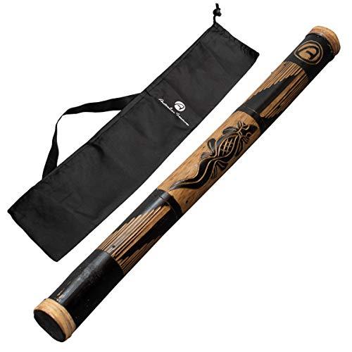 Australian Treasures - Baton de pluie 60cm carved incluant un sac en nylon
