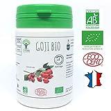 Goji bio | 60 gélules | Complément alimentaire | Antioxydant Vitamine C Collagène...