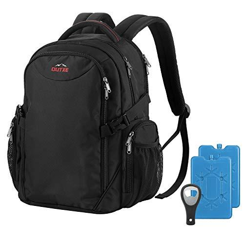 OUTXE Cool Bag Mochila 20L aislada Mochila enfriadora para ir de compras, picnic, camping, senderismo