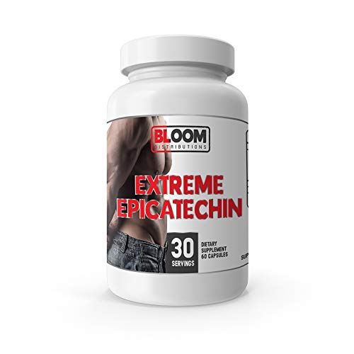 Extreme EPICATECHIN - 320MG EPICATECHIN - 60 Capsules! - Lean Mass Gains - Increase Performance - Increase Protein Synthesis - Lose Fat