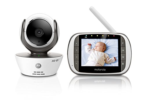 Motorola MBP853CONNECT Video Baby Monitor with 3.5' Handheld Parent Unit...