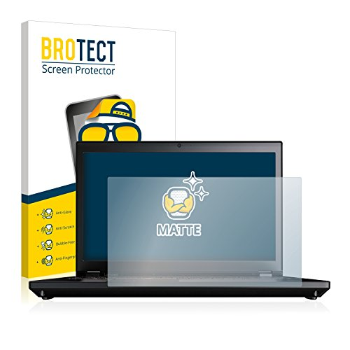 BROTECT Entspiegelungs-Schutzfolie kompatibel mit Lenovo ThinkPad P71 Bildschirmschutz-Folie Matt, Anti-Reflex, Anti-Fingerprint