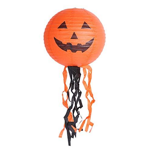 catyrre Halloween Paper Pumpkin Ghost Lantern Lampe Holiday Party Home Decor liefert Interessante Halloween Layout Props