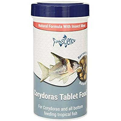 FishScience Corydoras Tablet 150g Fish Science Food Corys Catfish Bottom Feeders