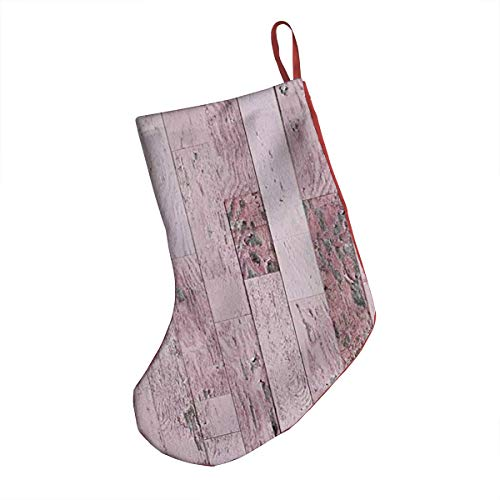 Christmas Stocking Sock Gift Bag,Cartoon Tent Fire and Hippie Style Caravan in The Mountains Countryside Activities,Tree Decorating Supplies Festival Creative Decorative Socks Hanging Ornaments