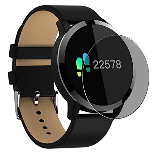 Vaxson Anti Spy Schutzfolie, kompatibel mit OUKITEL W1 Smartwatch smart watch, Displayschutzfolie Privatsphäre Schützen [nicht Panzerglas]