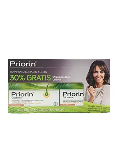 Priorin anticaída Pack ahorro. 120 cápsulas