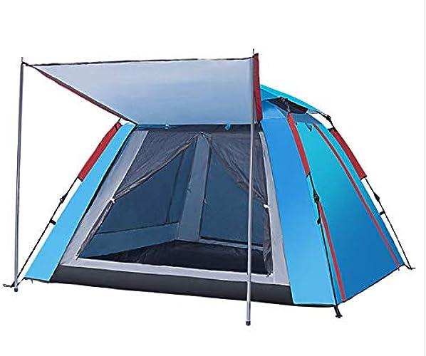 ISABELLA Tente, Tente Tunnel, Tentes Pop-Up pour 3-4 Personnes, 210  210  140 cm