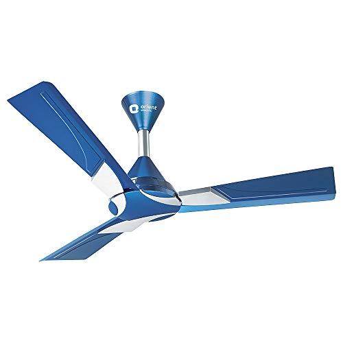 """Orient Electric Wendy Ceiling Fan Azure Blue 48"""" 1200Mm"""