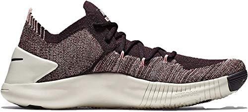 Nike Women's Free TR Flyknit 3 (8 B US, Burgandy Ash/Burgandy Ash/Pueblo Brown)