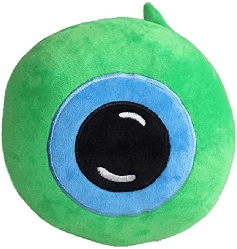 DINGX Juguete de peluche de 18 cm muñeca de ojos verdes juguetes de peluche abrazando almohada chuangze