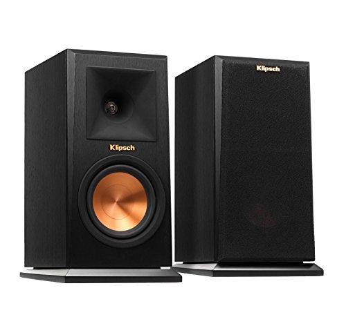 Klipsch RP-150M Bookshelf Speaker - Ebony, Pair (Renewed)