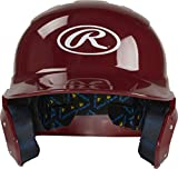 Rawlings Mach Alpha Baseball Batting Helmet, Cardinal, X-Large