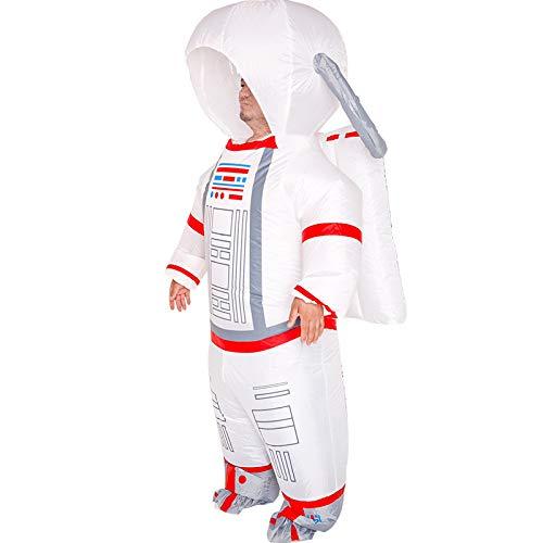 Disfraz De Astronauta para Adultos, Disfraz Divertido Inflable, Traje De Transporte, Traje Gordo, Accesorios De Cosplay De Dibujos Animados De Halloween