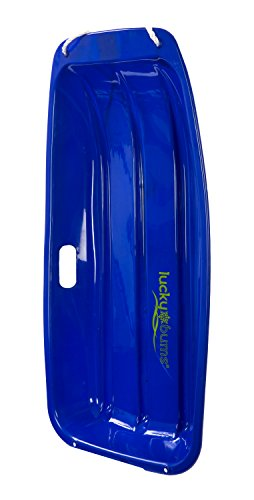 Lucky Bums Kids Plastic Snow Sled Toboggan, 35-inch, Blue (109.33BL)