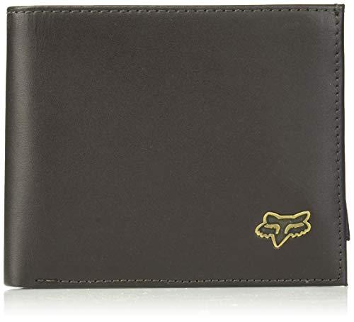 Fox Bifold Leather, BRN, Größe OS