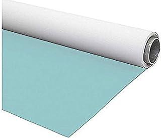 Fondart   Fotohintergrund für Fotografie und Video, professionelle Fotoleinwand beidseitig, Hellblau   Weiß, 150 x 305 cm
