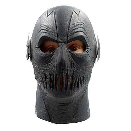 Cosplay Zoom Maske Marvel Flash Maske Latex Voller Kopf Atmungsaktive Halloween Party Cosplay Kostüm Prop