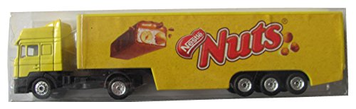Nestlé Nr. - Nuts Schokoriegel - Man TG - Sattelzug