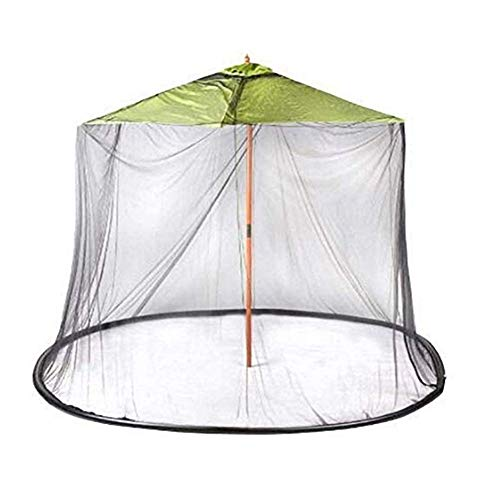 Moustiquaire Filet en Plein Air Jardin Patio Parapluie Table Écran Net Auvent Universel Moustique Maille Net Toutes Les Dimensions Lit Maison Anti Moustique Tente