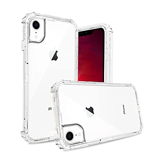 YAPANIZCEL Funda para iPhone XR de 6.1' Case, Transparente Carcasa de ACRILICO COMPUESTA DE Tres Piezas con Protección de Absorción...