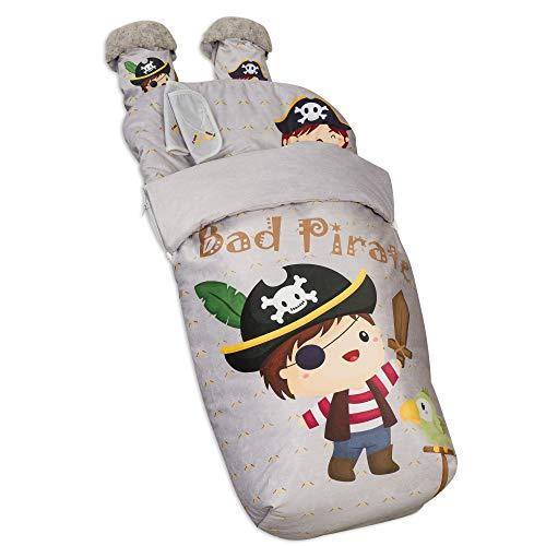 Babyline 2000677 Sitzsack für Bad, Pirat
