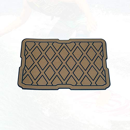 DeckFX Compatible with YETI Tundra 50 Cooler EVA Foam Pad | Mat | Top | Seat Cushion - Cooler Accessories (Brown/Black/Diamond, YETI Tundra 50)