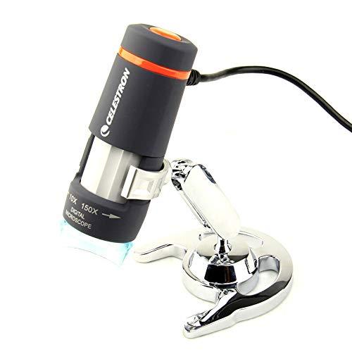 1000x Endoscopio de aumento Microscopio digital 3 en 1 1000X Lupa de soporte de manguera port/átil de uso m/últiple para MAC Windows Microscopio digital