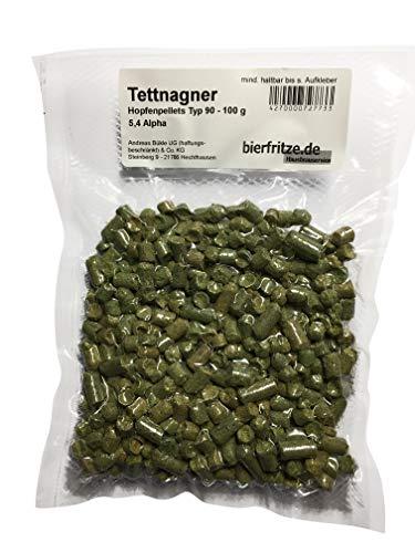 Tettnanger - Aromahopfen - Hopfenpellets Typ 90-100 Gramm - zum Bier brauen…