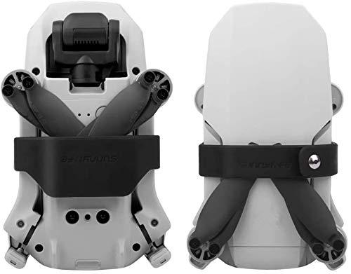 Hensych Propellerhalter Klingenhalterung für Mavic Mini, Silikon Klingenfixierer Stabilisatoren Transportschutz Soft Clip für Mavic Mini Zubehör(schwarz)