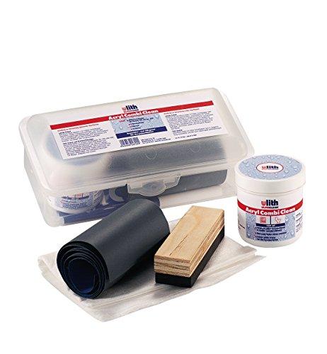Pflegeset , Zur Reinigung und Entfernung von leichten Kratzern , Acryl-Badewannen , Acryl-Brausewannen