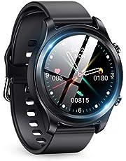 智能手表 2020年最新 Bluetooth5.0 smart watch 活動量計 多功能 智能手環 全觸摸屏 運動手表 IP68防水 秒表 萬步計 計步器 手表 鬧鐘 久坐提醒 多運動模式 來電&消息通知 禮物 支持iPhone/Android 日語