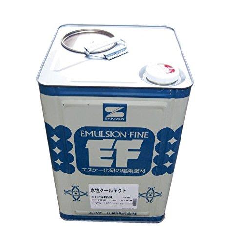 エスケー化研 外壁用フッ素樹脂遮熱塗料 水性クールテクトF 16kg CT-174