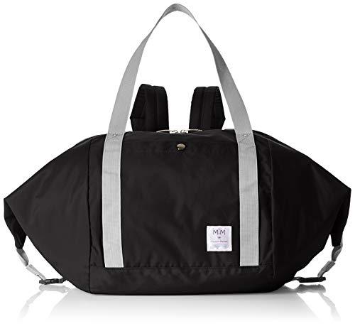 [マッシモマリアーニ] エコバッグ・買い物バッグ_レディース 3WAY かごサイズ 42-26 ブラック