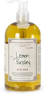 Stonewall Kitchen Lemon Parsley Hand Soap, 16.9 Ounce
