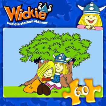 PUZZLE, Wickie und die starken Männer - Puzzle (60 Teile)