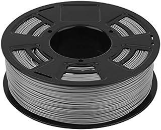 1 JANBEX PLA Filament 1.75 mm 1 kg Rouleau pour imprimante 3D ou stylo dans emballage sous vide Blanc.