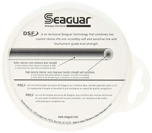 Seaguar Blue Label 100% Fluorocarbon Leader (DSF) 25yd 30lb, Clear (30FC25)