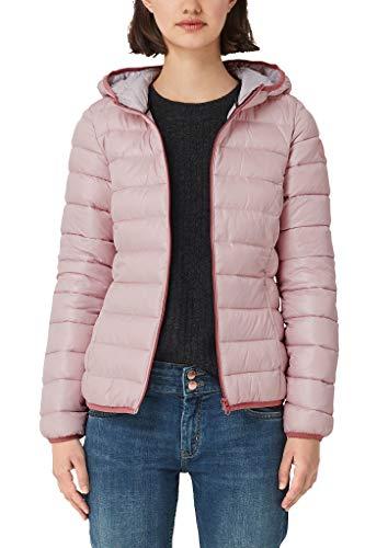 Q/S designed by - s.Oliver Damen 4E.995.51.2017 Langarm Jacke, Rosa (Mellow Pink 4056), 42 (Herstellergröße: XL)