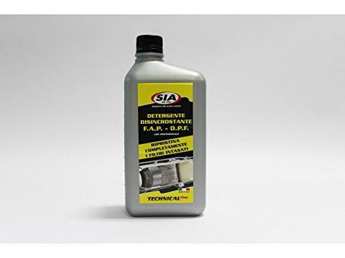 Sia Detergente Auto disincrostante per Filtro antiparticolato FAP 1 Litro