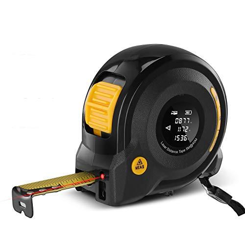APROTII Digital Laser Distance Meter, 2-in-1 40M Laser Rangefinder 5M Tape...