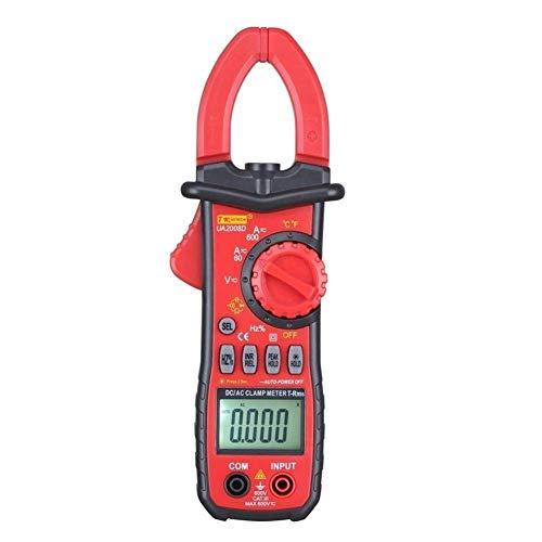 CLJ-LJ Herramientas Resistencia 600A multímetro Digital CC CA probador de Abrazadera de Corriente Medidor de Pruebas for Voltaje diodo de Capacidad Certificado CE