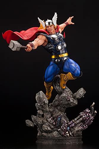 Kotobukiya Marvel Universe Avengers: Thor Fine Art Statue, Multicolor
