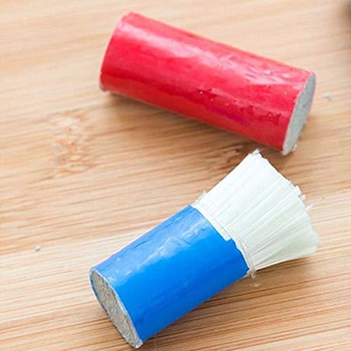 EDCV Roestverwijderaar Reiniging Wasborstel Veegpot Schoon gereedschap 1 PC-reinigingsborstels voor keuken Roestvrijstalen staaf Magic Stick, Multi